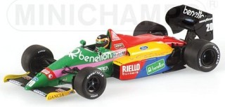 Benetton Ford B187 1987 No.20 Thierry Boutsen