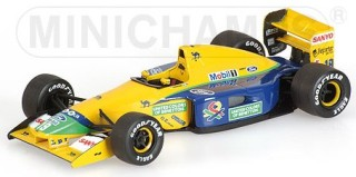 Benetton Ford B191B 1992 No.19 Michael Schumacher