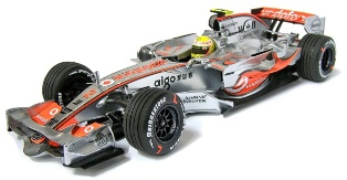 McLaren Mercedes MP4-22 2007 Lewis Hamilton No.2