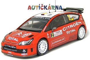 Citroen C4 WRC 2008 Rally Monte Carlo No.2