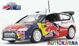 Citroen C4 WRC 2009 Rally Great Britain No.1