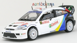 Ford Focus WRC 2004 Rally Monte Carlo No.7