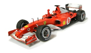 Ferrari F2002 2002 No.1 Michael Schumacher