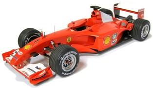 Ferrari F2001 2001 No.1 Michael Schumacher