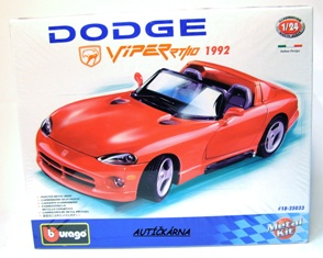 Dodge Viper RT/10 1992 cabriolet