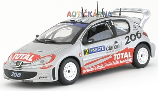Peugeot 206 WRC 2002 Rally Finland No.2