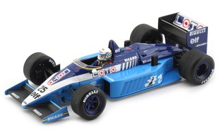 Ligier JS27 1986 No. 25 GP Great Britain