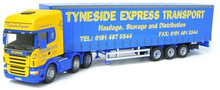 Scania R620 Topline - Tyneside Express Transport