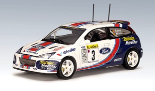 Ford Focus WRC 2001 Rally Monte Carlo No.3