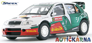 Škoda Fabia WRC 2005 Rally Japan No.12