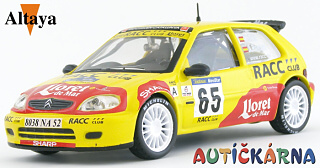 Citroen Saxo S1600 2002 Rally Catalunya No.65