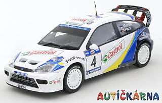 Ford Focus WRC 2003 Acropolis Rally No.4