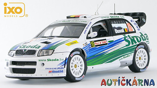 Škoda Fabia WRC 2006 Rally Turkey No.16