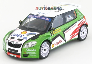 Škoda Fabia S2000 2009 Barum Rally No.1