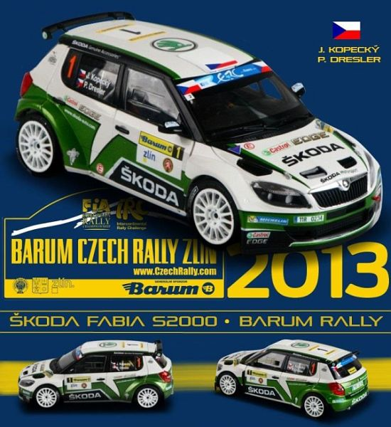 Barum Rally 2019: Škoda Fabia S2000 Barum Rally 2013 No.1